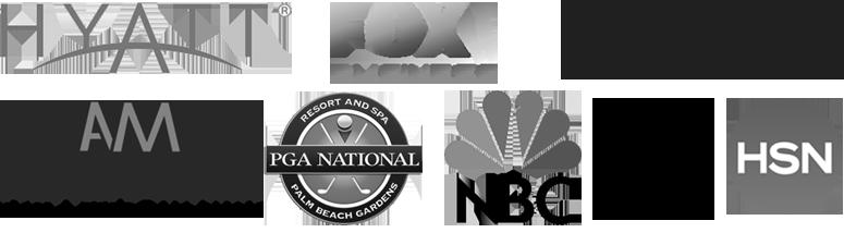 spokesperson for hyatt fox cbs adam's mark pga national nbc abc hsn
