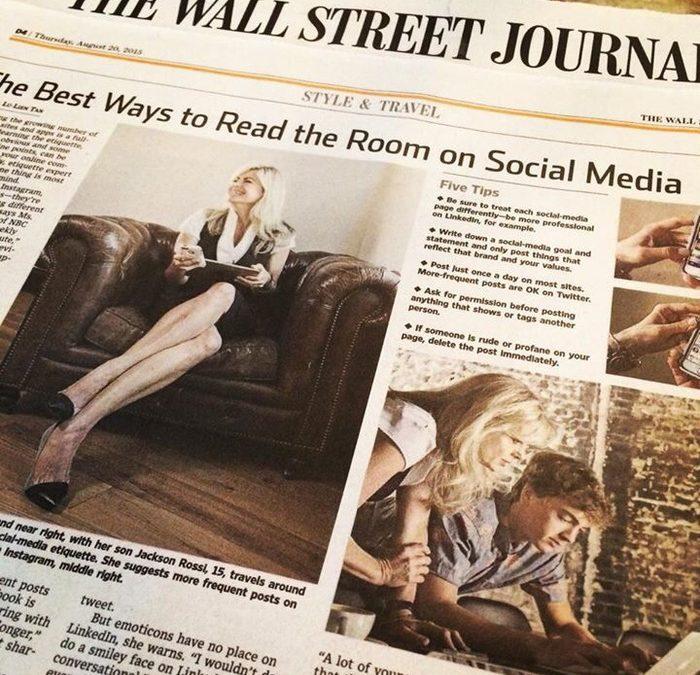 """Reading the Room"" Online Etiquette"